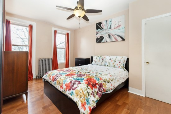NY apartment photographer one bedroom apartment crown heights brooklyn ny bedroom