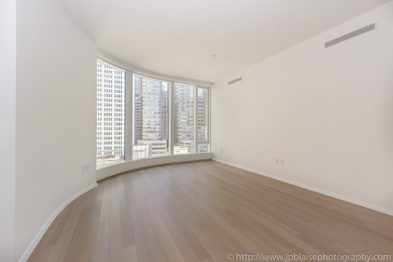 NY apartment photographer one bedroom battery park city manhattan new york city bedroom
