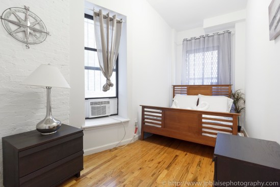 NY apartment photographer real estate interior Harlem bedroom 2