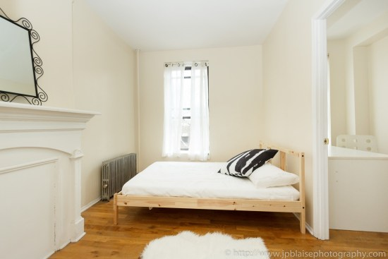 ny apartment photographer two bedroom clinton hill brooklyn bedroom