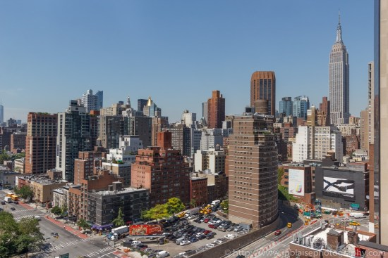 NYC apartment photographer two bedroom midtown views empire state