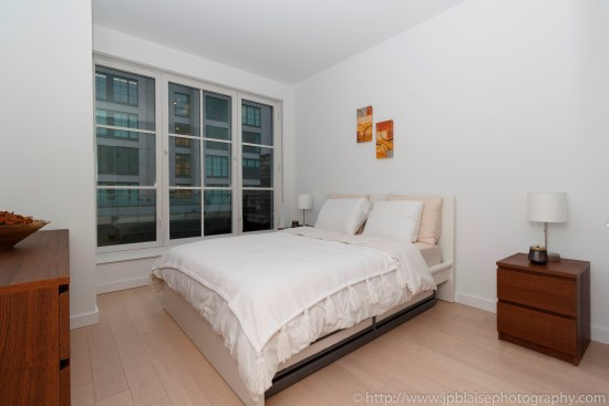 NYC real estate photographer apartment interior architectural airbnb midtown west bedroom