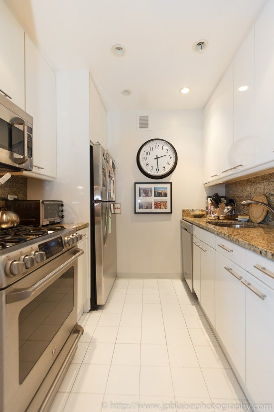 New York City apartment photographer one bedroom Midtown NY kitchen