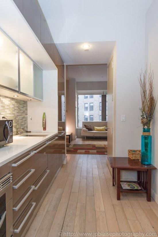 New York City apartment photographer studio financial district ny kitchen