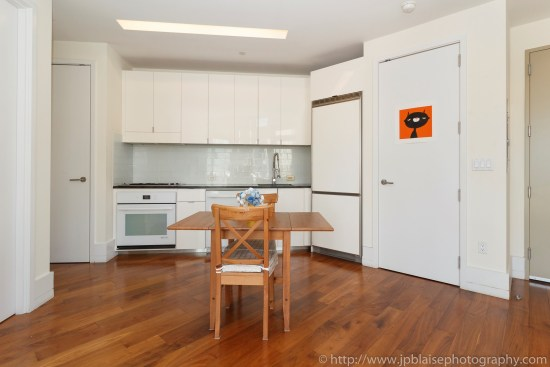 New York apartment photographer one bedroom real estate interior long island city Queens kitchen