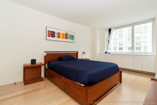 New york city apartment photographer ny nyc real estate interior photography midtown west bedroom