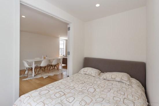 New York city interior photographer two bedroom apartment in west village manhattan