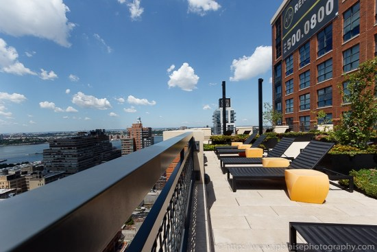 Stunning terrace views from Chelsea, New York City (New York Real Estate photographer)