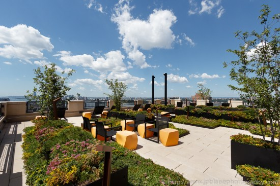 Stunning terrace views from Chelsea, New York City (apartment photographer)
