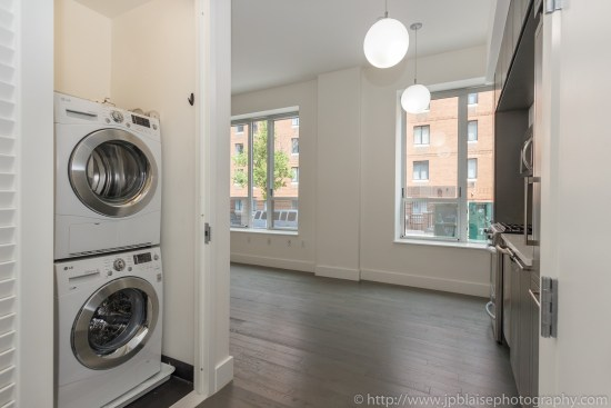 Real estate apartment photographer Midtown west 1 bedroom unit entrance