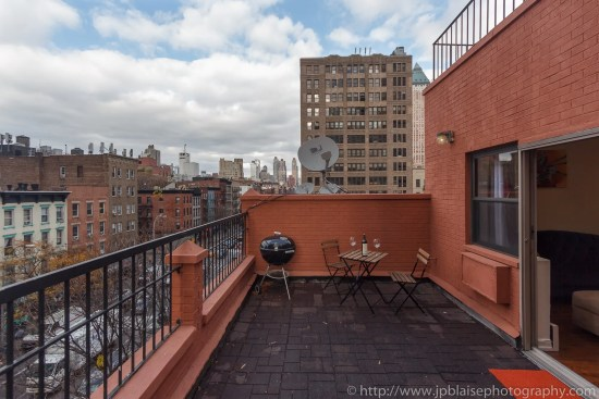 terrace ny-apartment photographer new york two bedroom in hells kitchen manhattan