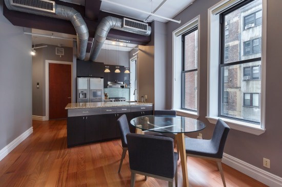 apartment photographer new york ny nyc real estate interior photography chelsea one bedroom dining room
