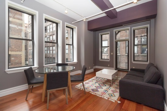 apartment photographer new york ny nyc real estate interior photography chelsea one bedroom living room