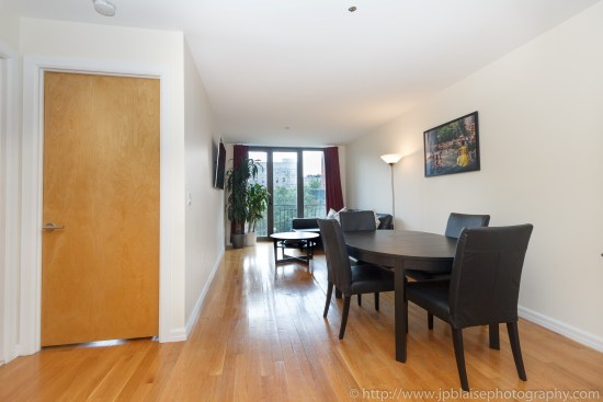 apartment photographer one bedroom new york city east village real estate interior dining room