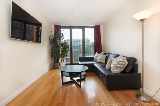 apartment photographer one bedroom new york city east village real estate interior living room