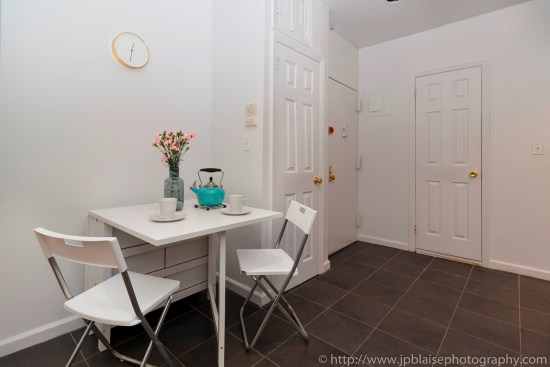 apartment photographer real estate interior new york ny nyc midtown manhattan dining area