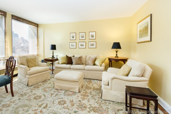 apartment photographer real estate nyc one bedroom midtown east manhattan interior design living room