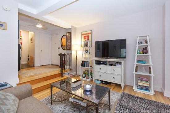 apartment photographer work studio in Chelsea living area