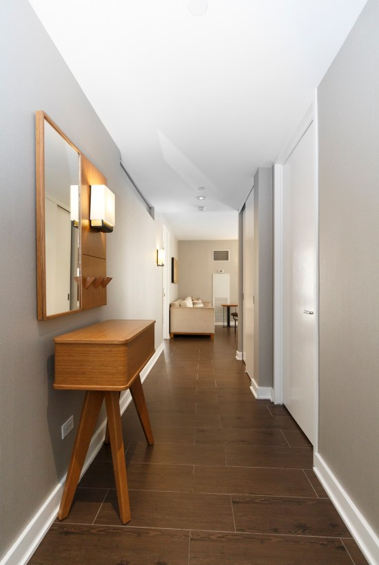 new york apartment photographer nyc ny Midtown East real estate interior two bedroom entrance