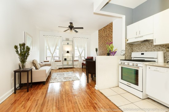 new york city photographer one bedroom harlem living room