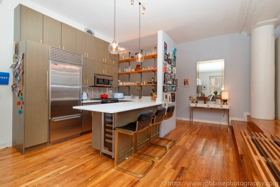 ny apartment photographer real estate interior new york tribeca new york city manhattan nyc kitchen