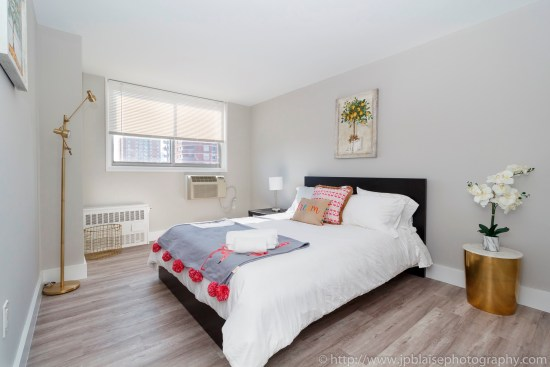 real estate apartment photography photographer new york ny nyc midtown east bedroom