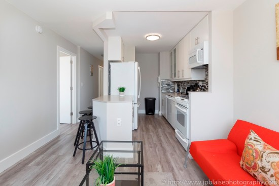 real estate apartment photography photographer new york ny nyc midtown east kitchen
