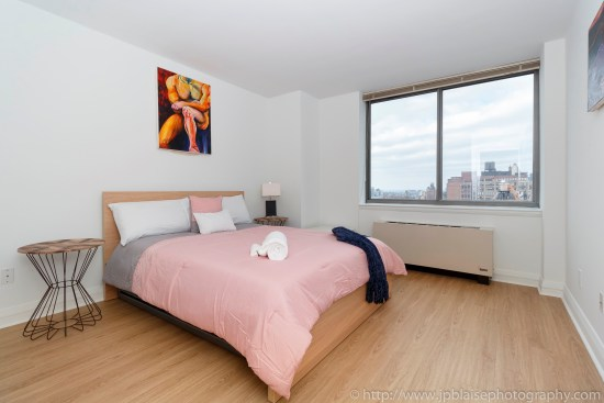 real estate photographer apartment interior midtown west photography bedroom