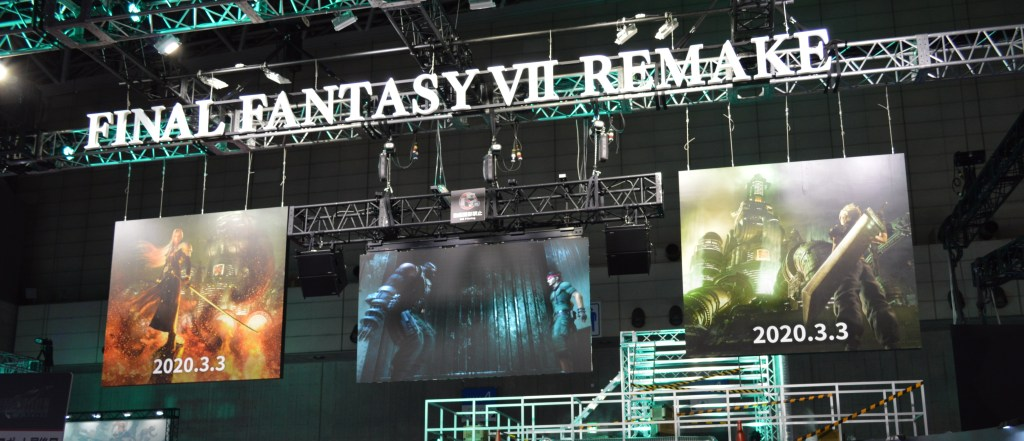 Final Fantasy VII Remake Demos Sold out by 12 pm at TGS 2019