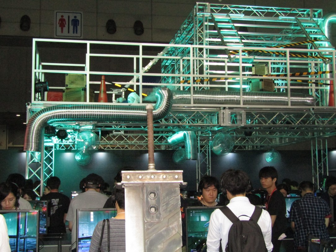 Final Fantasy VII Remake Demos Sold out by 12 pm at TGS 2019 - Buster Sword and Mako Reactor