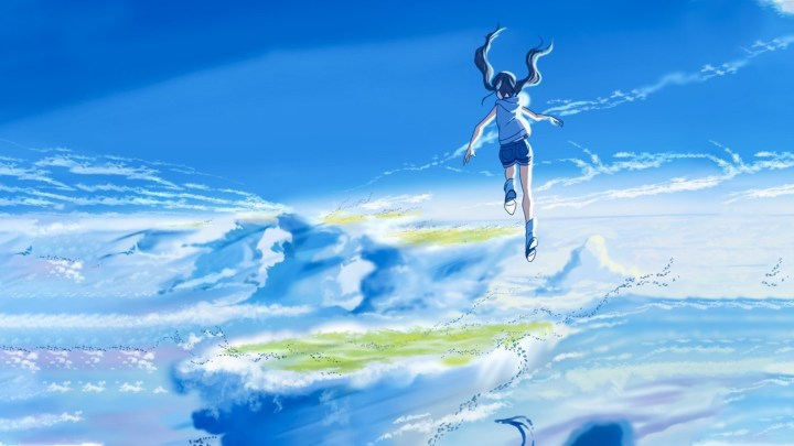 Tenki No Ko Hina in the Sky