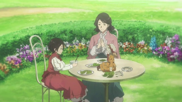 violet evergarden anne and her mother