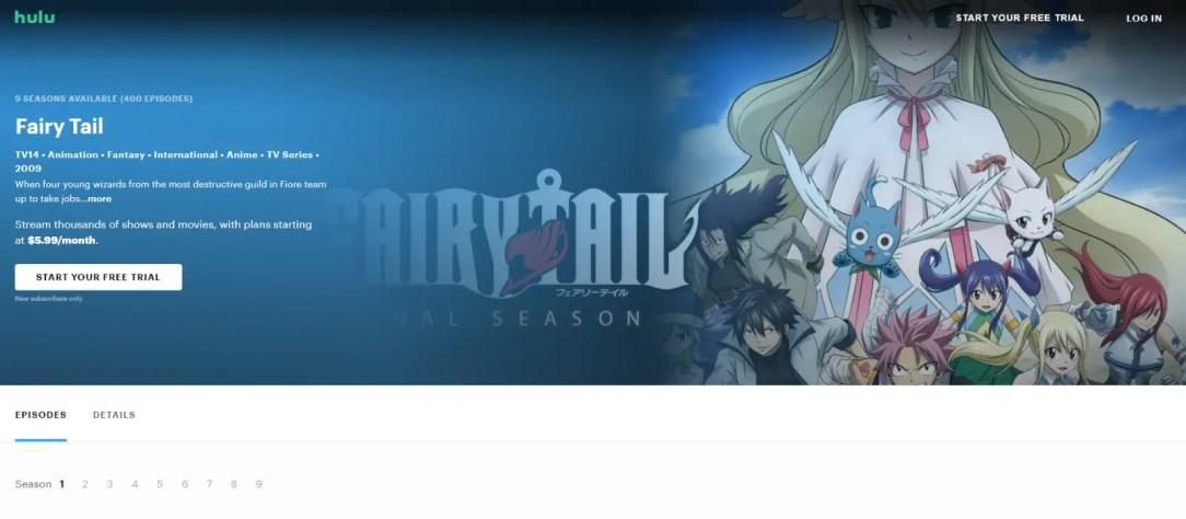 watch fairy tail online