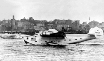 N-18602 in Auckland (Courtesy Pan Am Historical Foundation and Ed Dover)