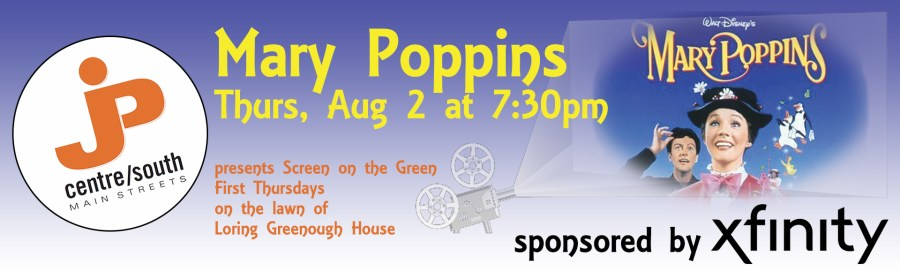 Mary Poppins Screen on the Green