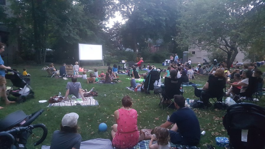 Crowd at September Screen on the Green