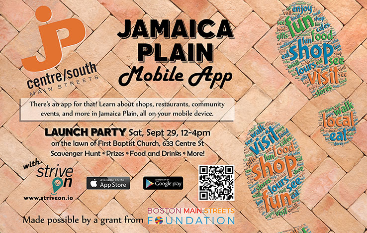 Jamaica Plain Mobile App with Strive On
