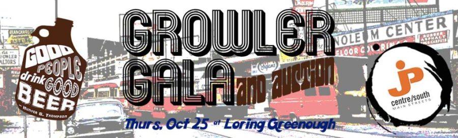 Growler Gala Website Slider