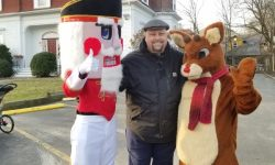 Board Member Brad Brown with Holiday Guests!