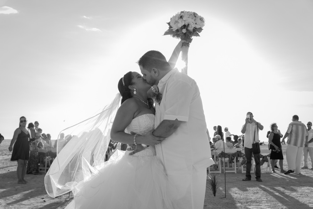 #PhotoFriday Wedding on the Beach in St. Petersburg