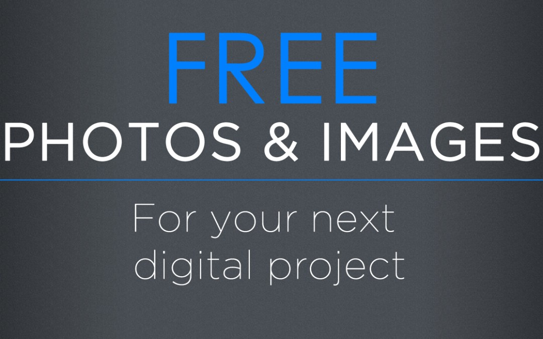 5 Websites for Free Photos to use on your Website or Blog