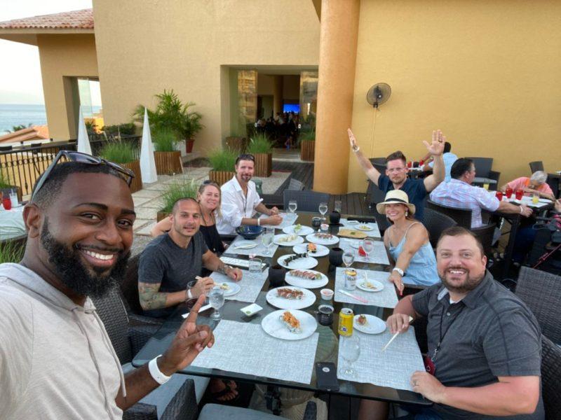 Cabopress dinner group