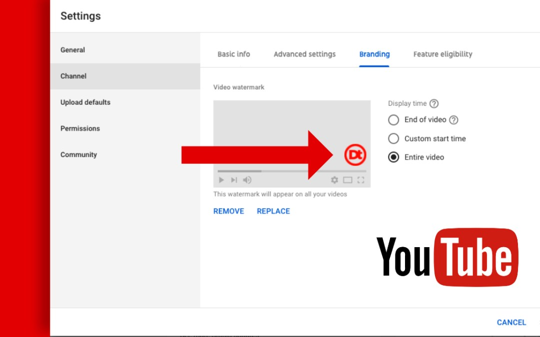 How to Add Your Logo to your YouTube Videos