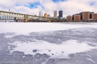Iced Out Mon Frozen Pittsburgh Witner River blog