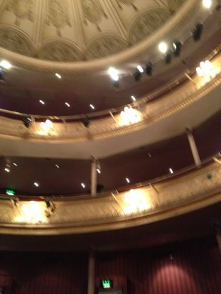 The neoclassical style is also evident in the Theatre Royal.