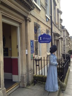 And speaking of Jane Austen, let's hit the museum around the corner.