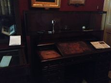 The actual desk on which Chaz wrote many of his novels!