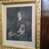Sir Walter Scott - The father of the Romantic historical novel and lover of his pooches.