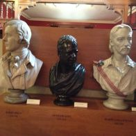 The three heavy hitters of Scottish literature - Robert Burns (1759-1796), Sir Walter Scott (1731-1832), and Robert Louis Stevenson (1850-1894).