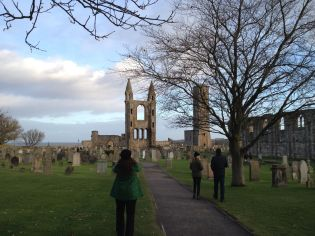 St. Andrews also has some amazing Medieval ruins of an abbey, a castle...